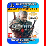 The Witcher 3 Wild Hunt Ps4 Complete Edition Digital