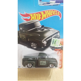 Hot Wheels Custom 56 Ford Truck 2/10 Hw Hot Trucks