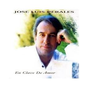 Jose Luis Perales Cd En Clave De Amor 1996 Impecable Estado