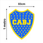 Boca River Escudo 1 Metro!! Vinilo! Ploter! Calco! Racing