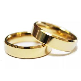 Promoção Par De Alianças De Ouro 18k Casamento Com 5mm 5gr