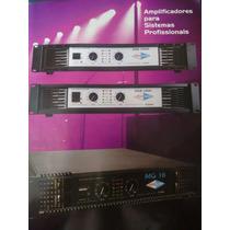 Amplificador Meaaudio Para Sistemas De Som Profissional A350