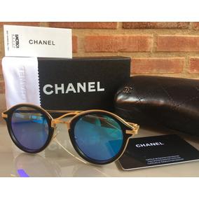 5ea5f729cb199 Óculos De Sol Feminino Oculos - Óculos De Sol Chanel no Mercado ...
