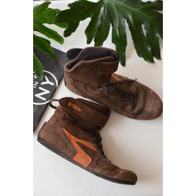Envio Gratis!! Zapatillas Boxeadora Caña Alta Mujer - Nº40