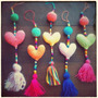 Souvenirs Amigurumis Regalos Artesanales Corazón Crochet