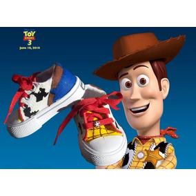 Zapas Pintadas/customizadas Personalizadas Woody Toy Story