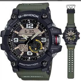 aef1889a8d9 Relógio G Shock Original Preto Com Verde - Relógios no Mercado Livre ...