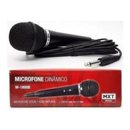 Microfone Barato P/ Igreja Cantar Karaokê Mxt M-1800b Cabo +