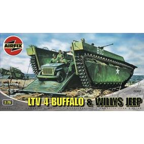 Airfix A Escala Buffalo Anfibios Y Jeep Vehículos Militares