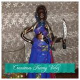 Santeria Muñecas Africanas Con Sus Camimos