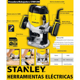Router Tupi Rebajadora Fresadora Stanley Strr1200