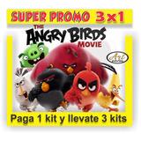 Kit Imprimible Promo 3x1 Angry Birds La Película Tarjetas