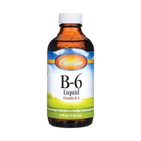 Carlson Laboratorios De Vitamina B-6 Líquido, 4 Onzas