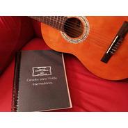 Caderno De Hinos Cifrados Para Violão