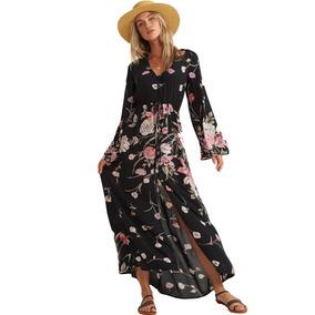 Vestido Petal Billabong Desi Kimono Dress Jd06qbde