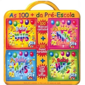 Cd Baby Hits - As 100 + Da Pré-escola (4 Cds)
