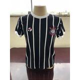 Camisa Retrô Do Corinthians 1982 - Masculina Democracia