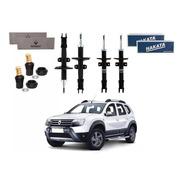 Kit Amortecedor Dianteiro Traseiro Renault Duster 4x4