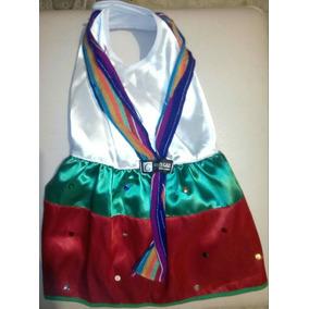 Vestido Tricolor Perrita Talla 4 Fiesta Patria 15 Septiembre