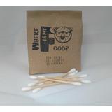 1000 Hisopos De Madera Biodegradable Ecologico