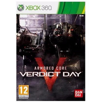 Game Armored Core: Verdict Day - Xbox 360 (mídia Física)