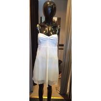 Sale !! Vestido Gasa Con Busto En Lentejuelas - Ultimo