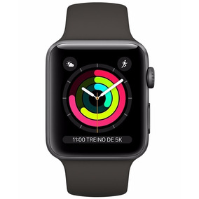 Apple Watch Serie 3 38mm Wifi Watchos 4 8gb Cinza Espacial