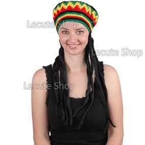 Peluca De Rastas Gorro Fiesta Disfraz Rastafari Bob Marley