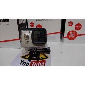 Sj4000 Sem Wi-fi + Microfone Externo Moto Vlog +cartão 32 Gb