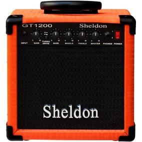 Amplificador 15w Cubo Caixa Sheldon Guitarra Gt1200*promoção