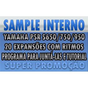 Samples Internos Com Ritmos Para Yamaha Psr S650/750/950