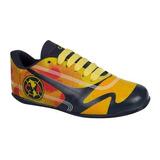 Tenis Para Futbol Infantil America Amarillo Sintetico Ur682