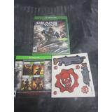 Gears Of War 4 Disco Fisico Con Descargas Del 1 2 3 Y Junmet