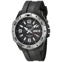 Casio Mtd-1082d-2avcf Reloj Análogo, Hombre, Ovalado, Color