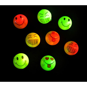 Combo Cotillon Luminoso 10. Silbatos Y 10 Narices Led Emoji
