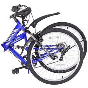 Promoción! Bicicleta Plegable De Montaña R26 7 Vel Shimano
