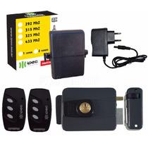 Kit Fechadura Elétrica Com Abertura Por Controle Remoto