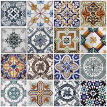 Papel De Parede Para Cozinha Azulejo Portugues Lavável