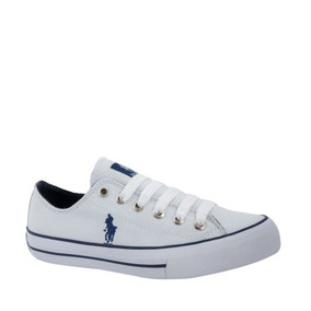 Tenis Casual Hpc Polo 9042 Blanco