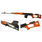 Fusil Sniper Modelo Dragunov