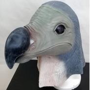 Mascaras De Latex Pajaro Dodo Dronte Aves Disfraz Adulto