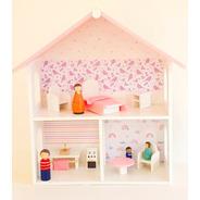 Casa Muñecas +  Muñecos D Madera Y Muebles - Baum Waldorf
