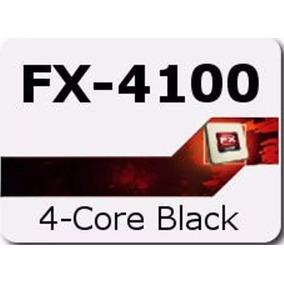 Cpu Amd Procesador Amd Fx-4100 3.6 Ghz 12mb Cache Y 5gb Ram
