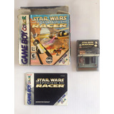 Star Wars Episodio I: Racer / Gameboy Color/ Caja / Manual