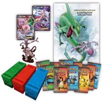 Pokemon Juego De Cartas Premium Collection Mew Y Mewtwo