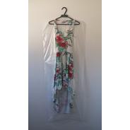 Capa Plástica Para Vestido Longo - 60x180 Cm - 100 Peças