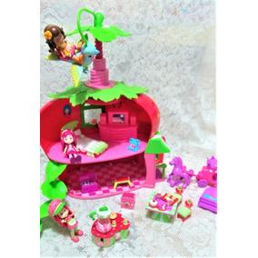 Casa Da Moranguinho Hasbro Usada H Est Ref 3
