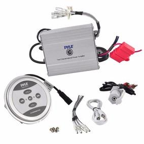 Pyle Amplificador Plmrmbt5s Marino Bluetooth 600w Tablero