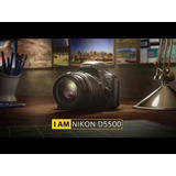 Nikon D5500 Kit18 55 Vrii 24mp Touch Full Hd Wifi Local Gtia