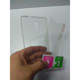 Combo Protector Estuche Nokia 3 + Vidrio Templado